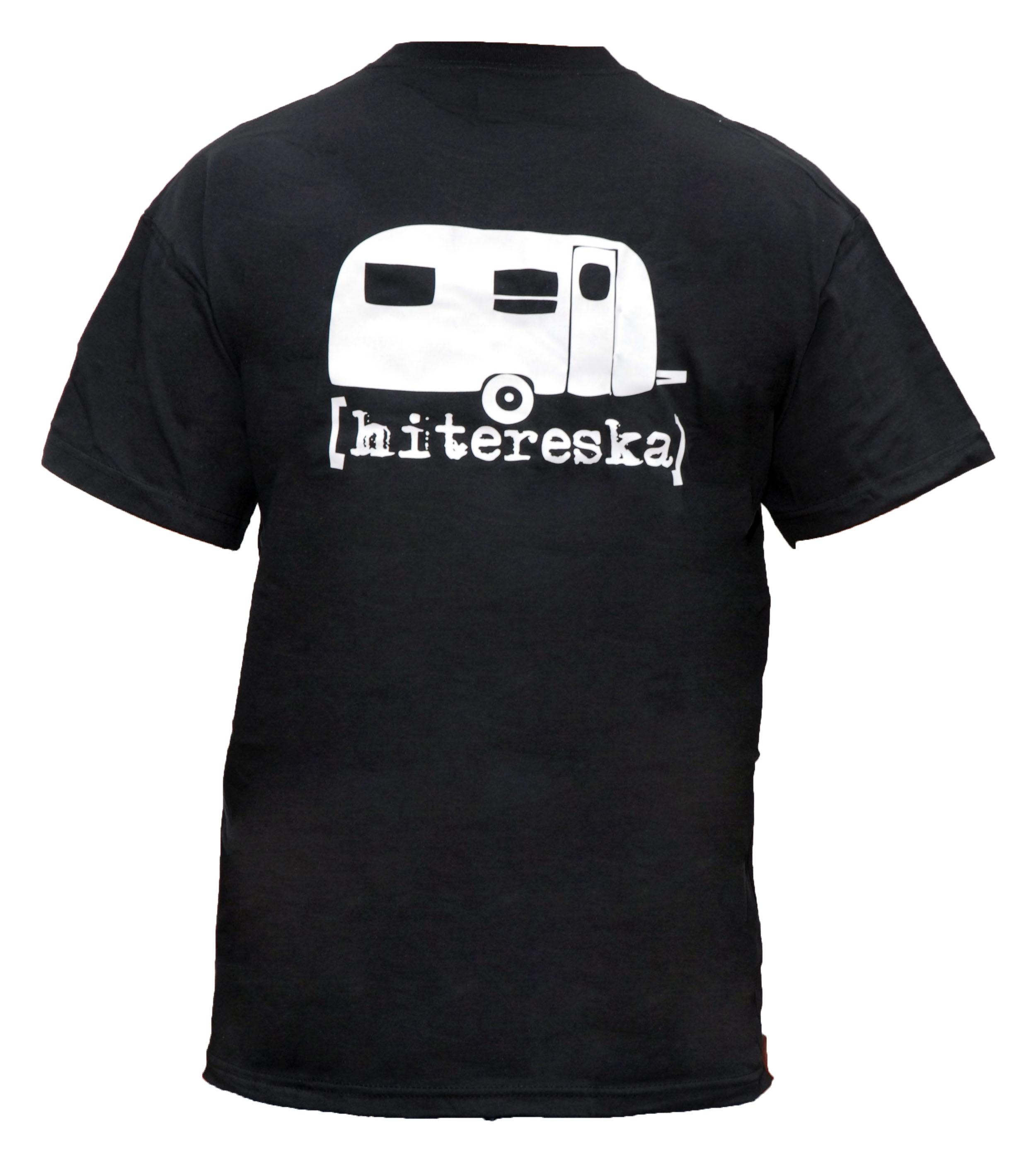 T-Shirt Wohnwagen hinten